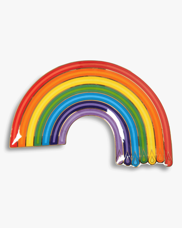 Jonathan Adler Dripping Rainbow Trinket Tray 0