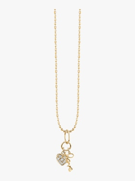 Love Duo Charm Necklace
