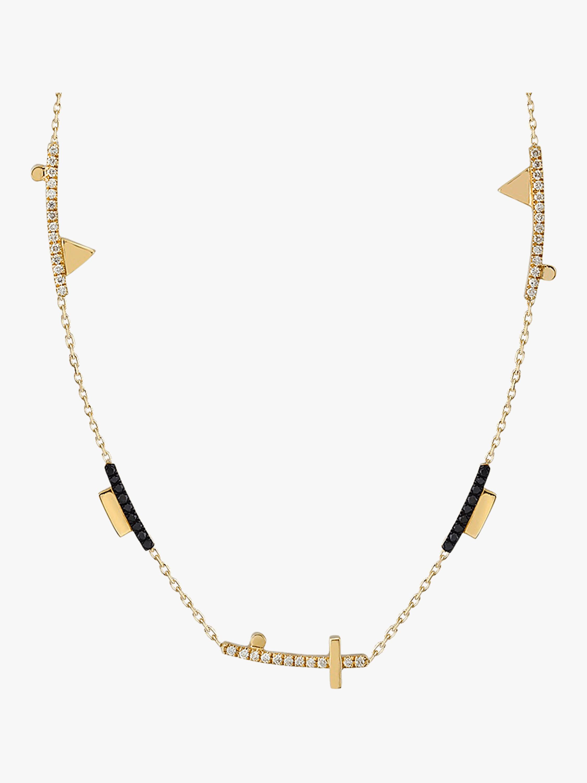 Geometric Short Cut-Out Necklace