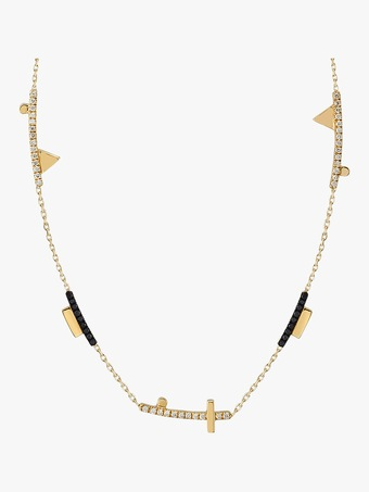 Harika Geometric Short Cut-Out Necklace 2
