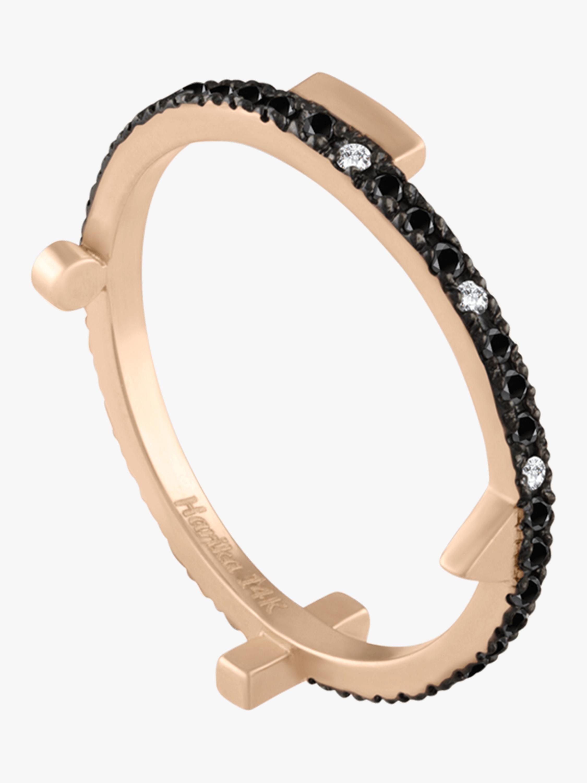 Geometric Eternity Stacking Ring