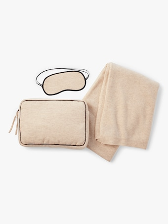 Romagnia Suede Travel Set