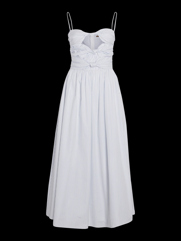 Striped Cotton Cami Dress