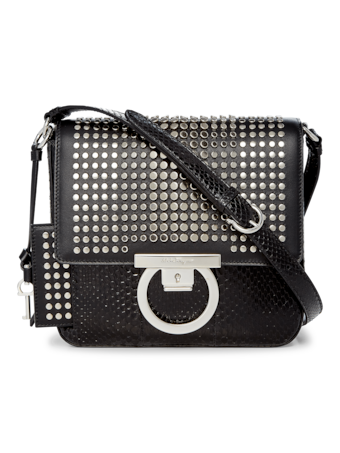 Lock Crossbody Bag