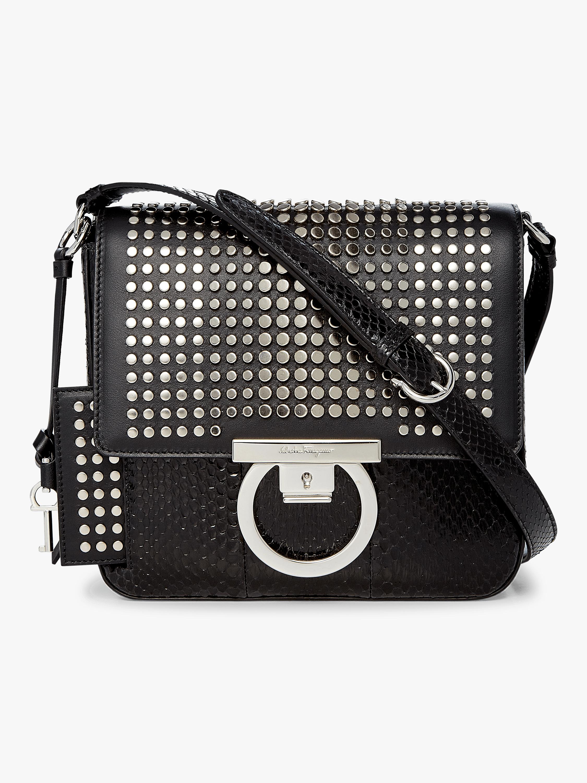 Lock Crossbody Bag
