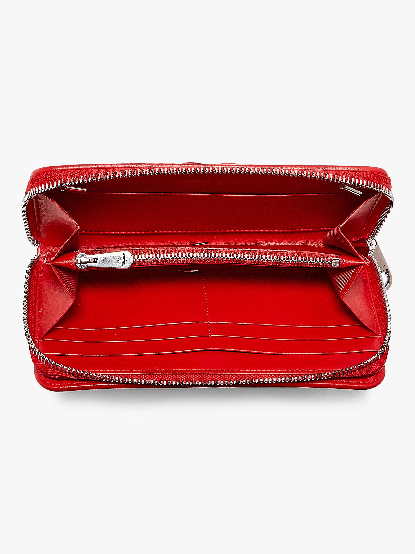 Gancino Quilted Velvet Chain Wallet Bag Salvatore Ferragamo