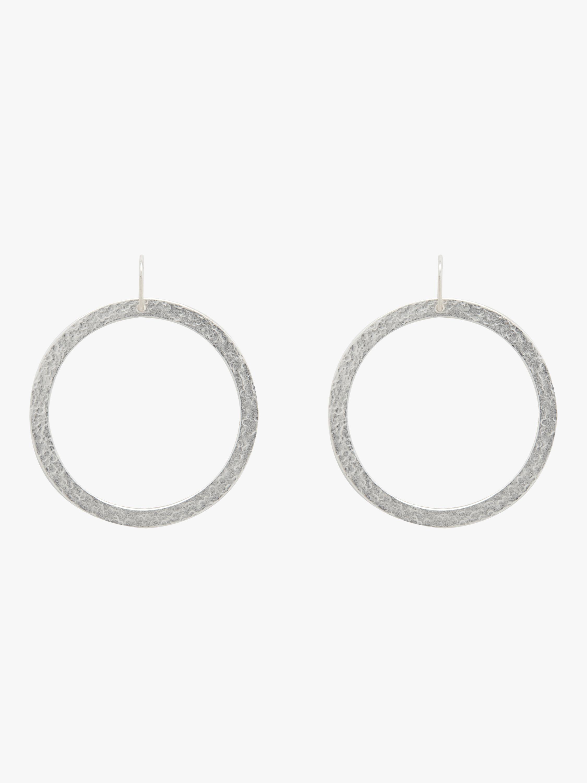 Paris Single Round Earrings