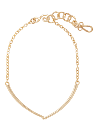 Clasped Arch Necklace