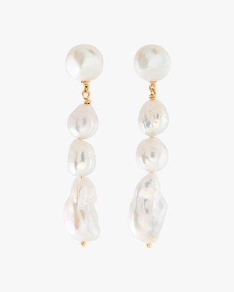 Joolz by Martha Calvo Baroque Pearl Drop Earrings 1