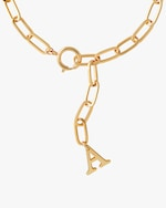 Joolz by Martha Calvo Initial Lariat Necklace 2