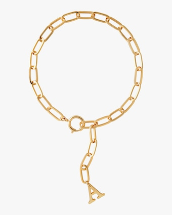 Joolz by Martha Calvo Initial Lariat Necklace 1