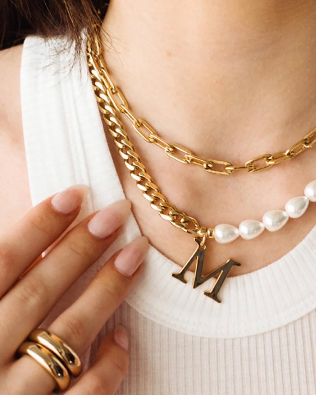 Medium Box-Link Chain Necklace