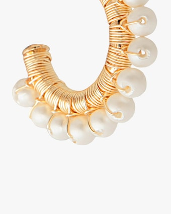 Joolz by Martha Calvo Mini Capri Hoop Earrings 2