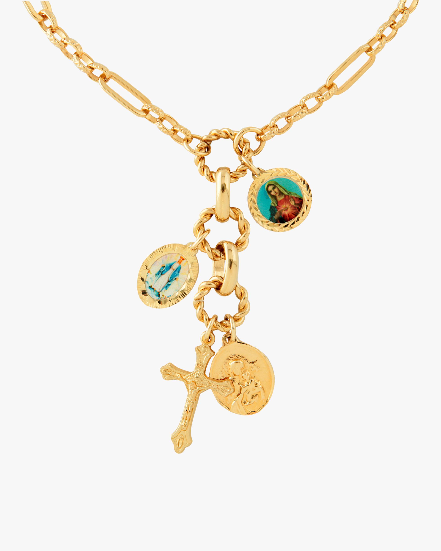 Joolz by Martha Calvo Sanctus Lariat Necklace 1