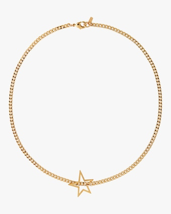 Joolz by Martha Calvo Shooting Star Curb Necklace 1