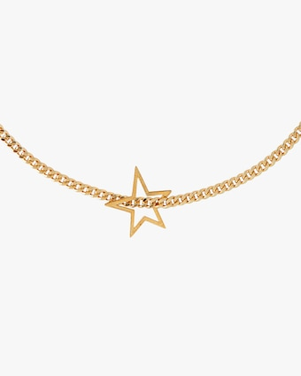Joolz by Martha Calvo Shooting Star Curb Necklace 2