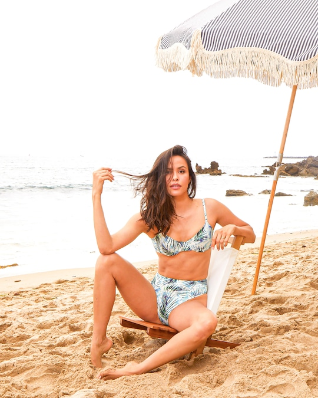 LVHR Kiera High-Waist Bikini Bottom 1