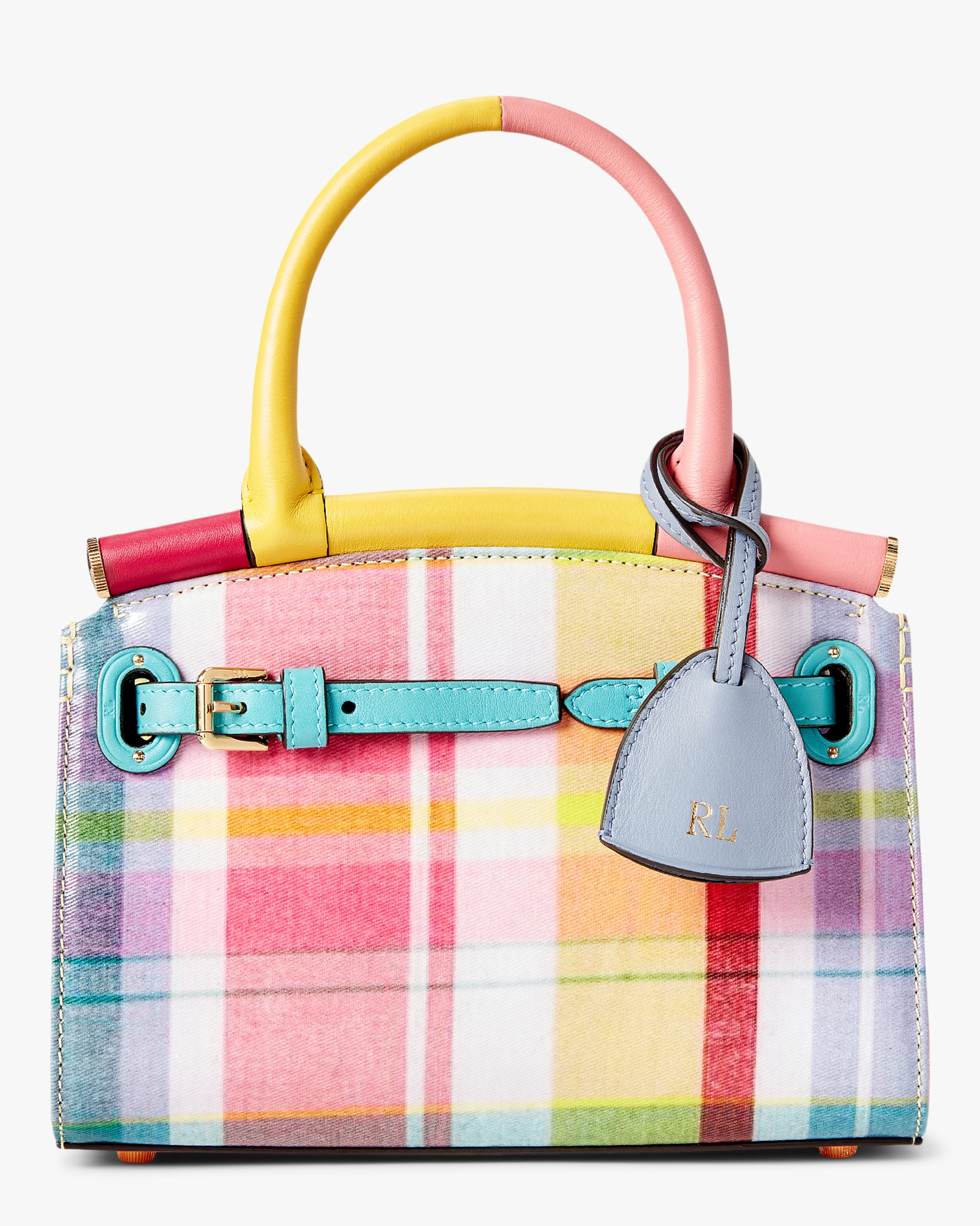 Ralph Lauren MADRAS MINI RL50 HANDBAG