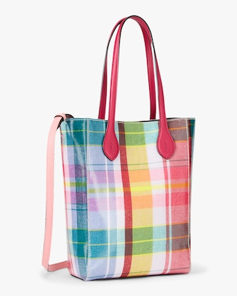 Ralph Lauren Collection Madras Mini Modern Tote 2