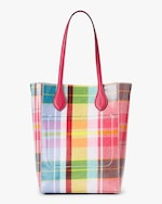 Ralph Lauren Collection Madras Mini Modern Tote 3