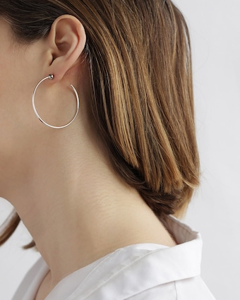 Jenny Bird Icon Hoop Earrings 2