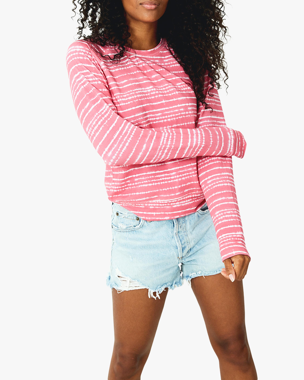 Pink Tie Dye Crewneck Sweatshirt