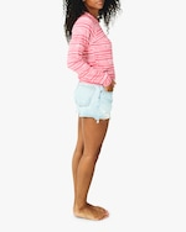 Stripe & Stare Pink Tie Dye Crewneck Sweatshirt 2