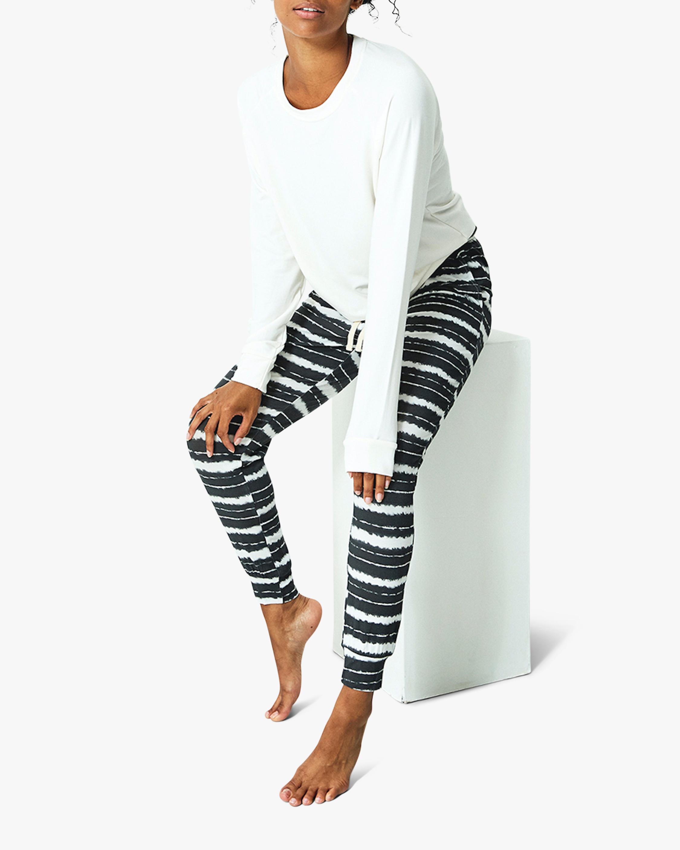 Charcoal Tie Dye Lounge Pants