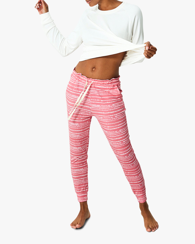 Pink Tie Dye Lounge Pants