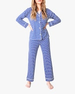 Stripe & Stare Polka Dot Pajama Set 0