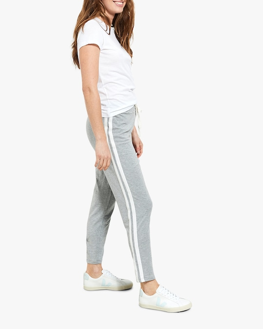 Stripe & Stare Grey Stripe Pants 1