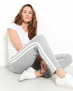 Stripe & Stare Grey Stripe Pants 3