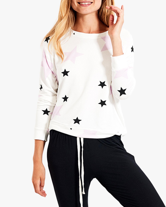 Stripe & Stare Star Crewneck Sweatshirt 0