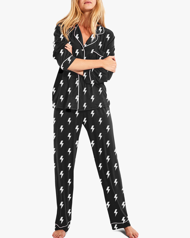Stripe & Stare Lightning Pajama Set 2