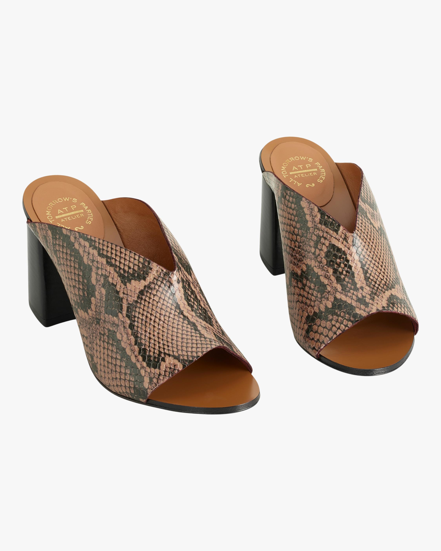 Licola Snake-Print Sandal