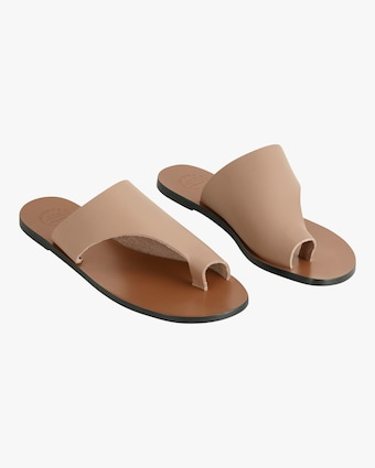 Rosa Vachetta Leather Sandal
