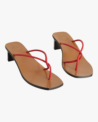 Red Panza Strappy Sandal