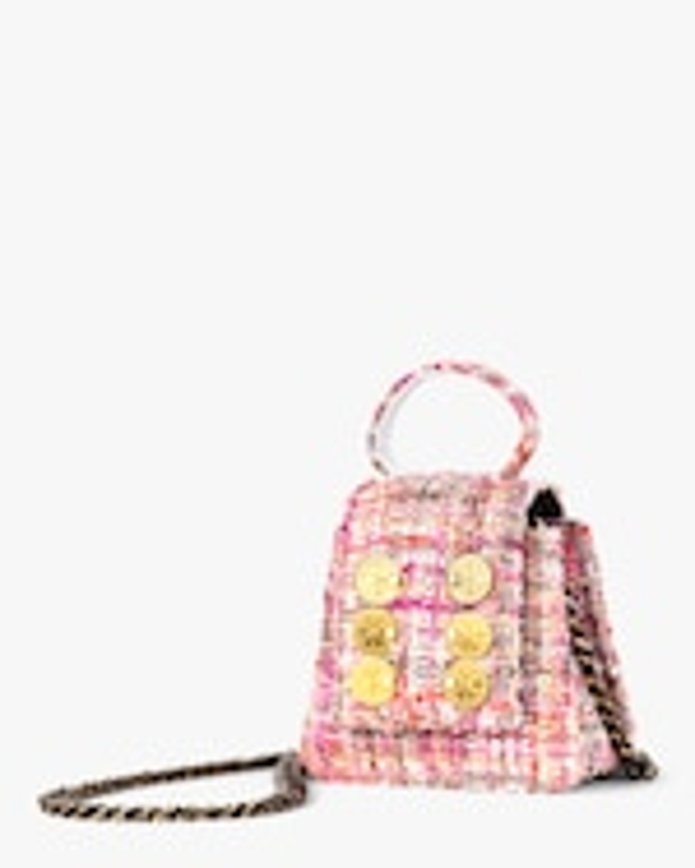 Kooreloo Monaco Tweed Mini Bag 1