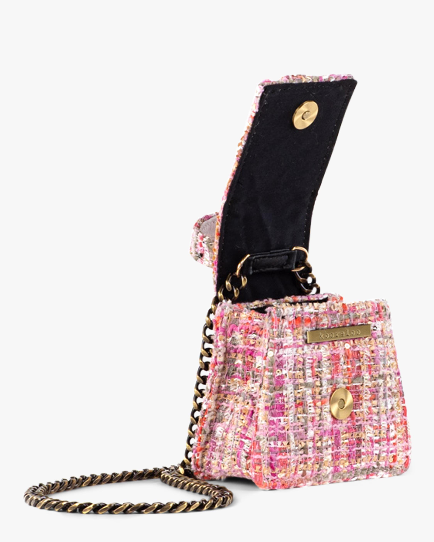 Kooreloo Monaco Tweed Mini Bag 3