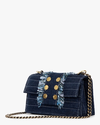 Soho Denim Shoulder Bag