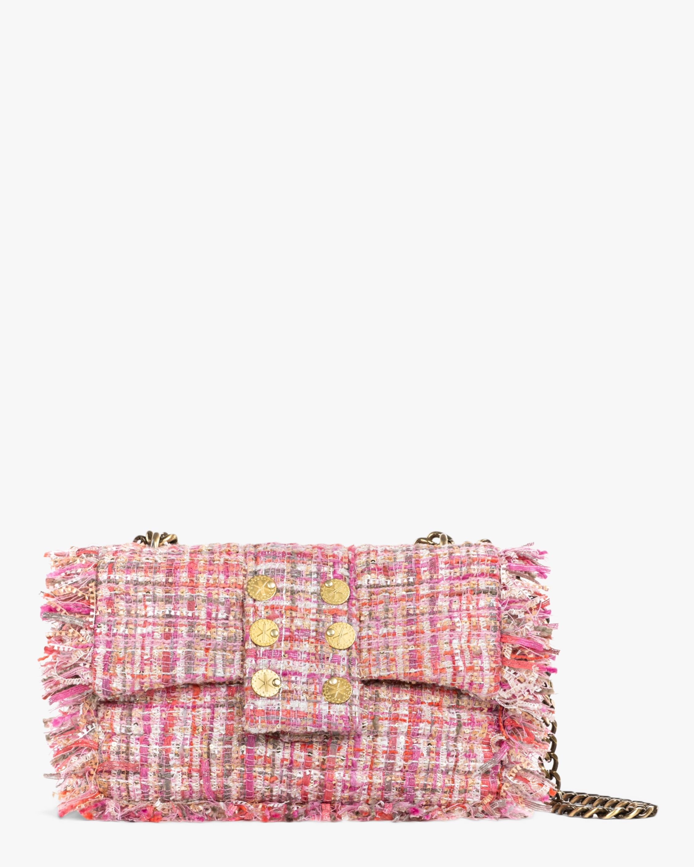 Kooreloo Pink San Francisco Pillow Tweed Shoulder Bag 0