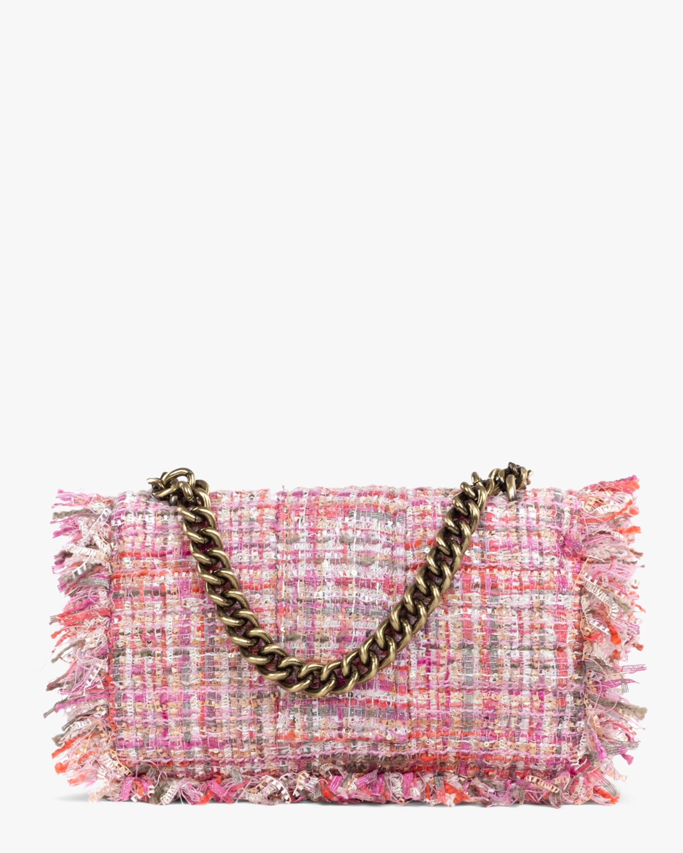 Kooreloo Pink San Francisco Pillow Tweed Shoulder Bag 2