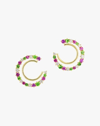 Bloom Enchanted Fan Earrings
