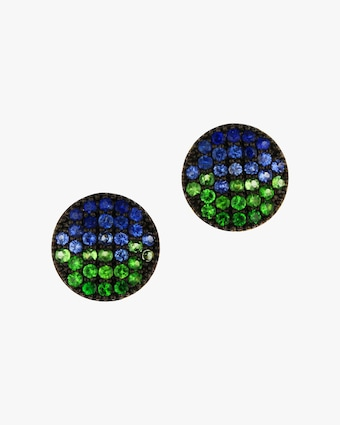 Marea Mini Infinity Stud Earrings