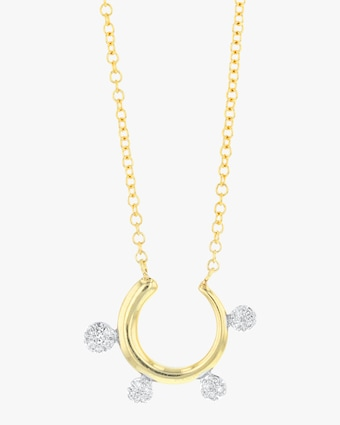 Phillips House Scalloped Infinity Fan Necklace 1