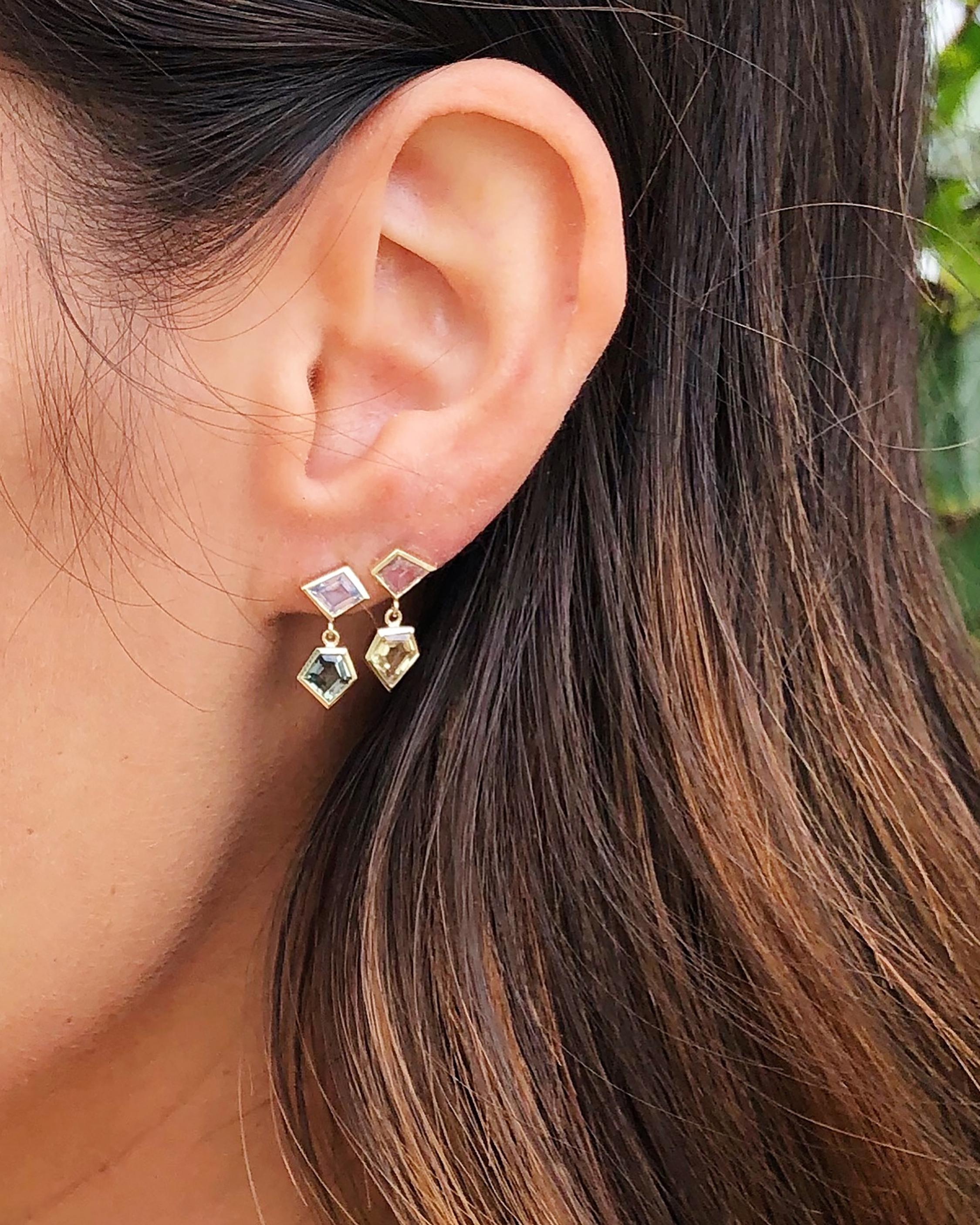 Era Interlock Earrings 1