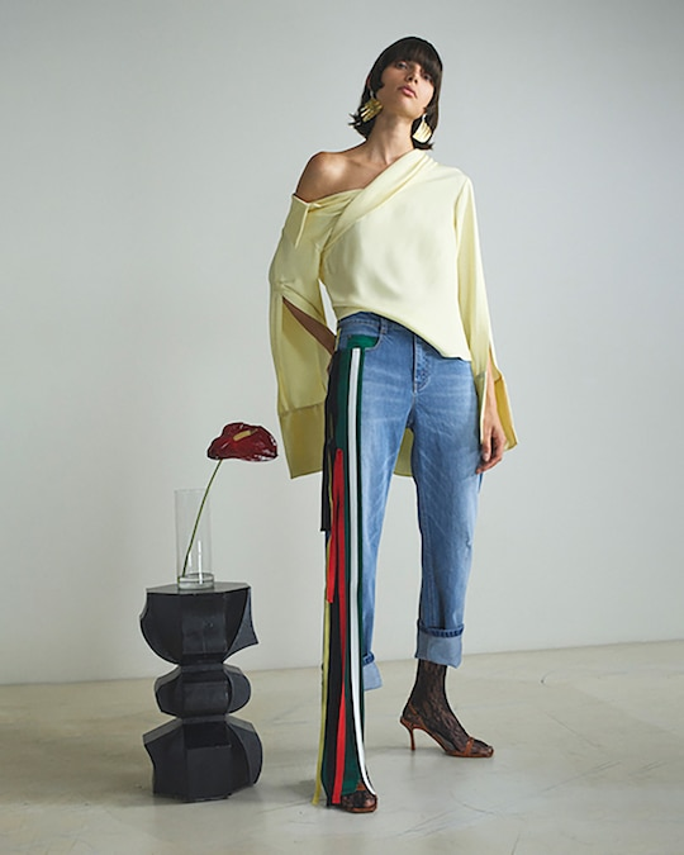 Hellessy Stella Asymmetrical Blouse 1