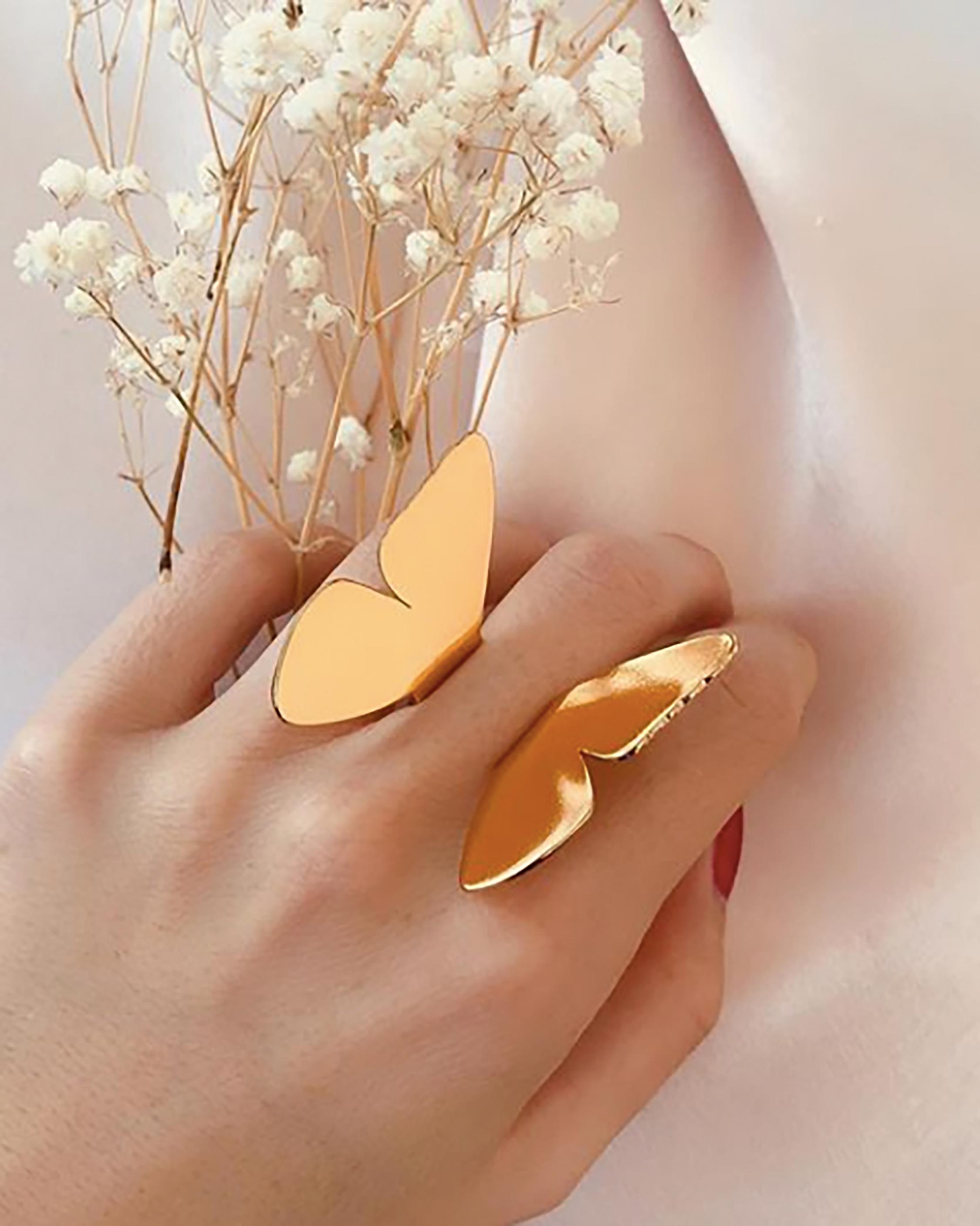 Lina Hernandez Flying Butterfly Ring 2
