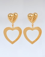 Lina Hernandez Lola Heart Earrings 0