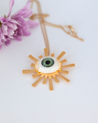 Third Eye Starburst Necklace